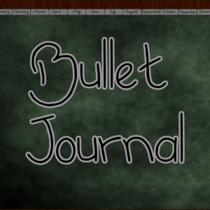 grey bullet journal